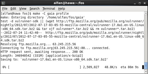 Install Firefox OS Desktop Builds on CentOS 64 Bit | AlfanLA
